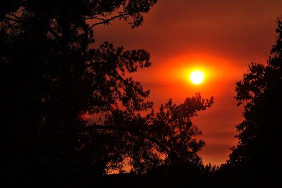 Smoky Sunset 2
