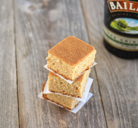 Baileys Blondies